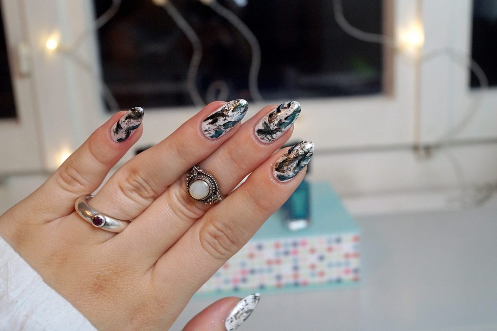 Marble Nails #nailart