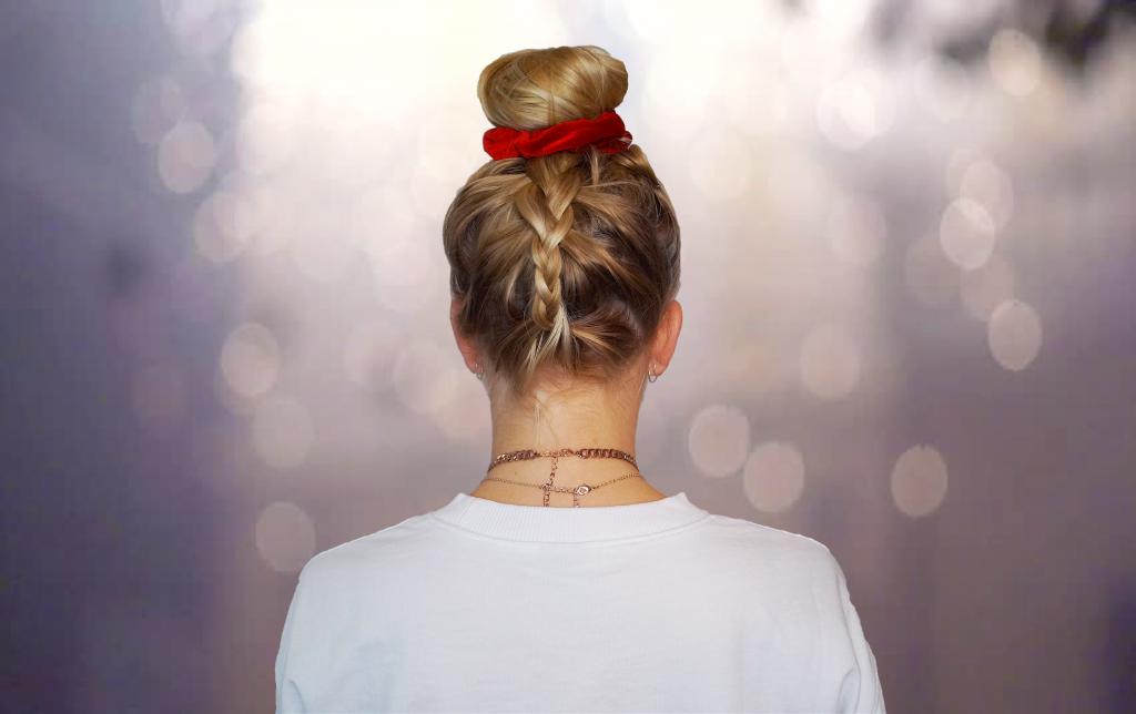 A Pinterest Inspired Upside Down Braid Hair Tutorial