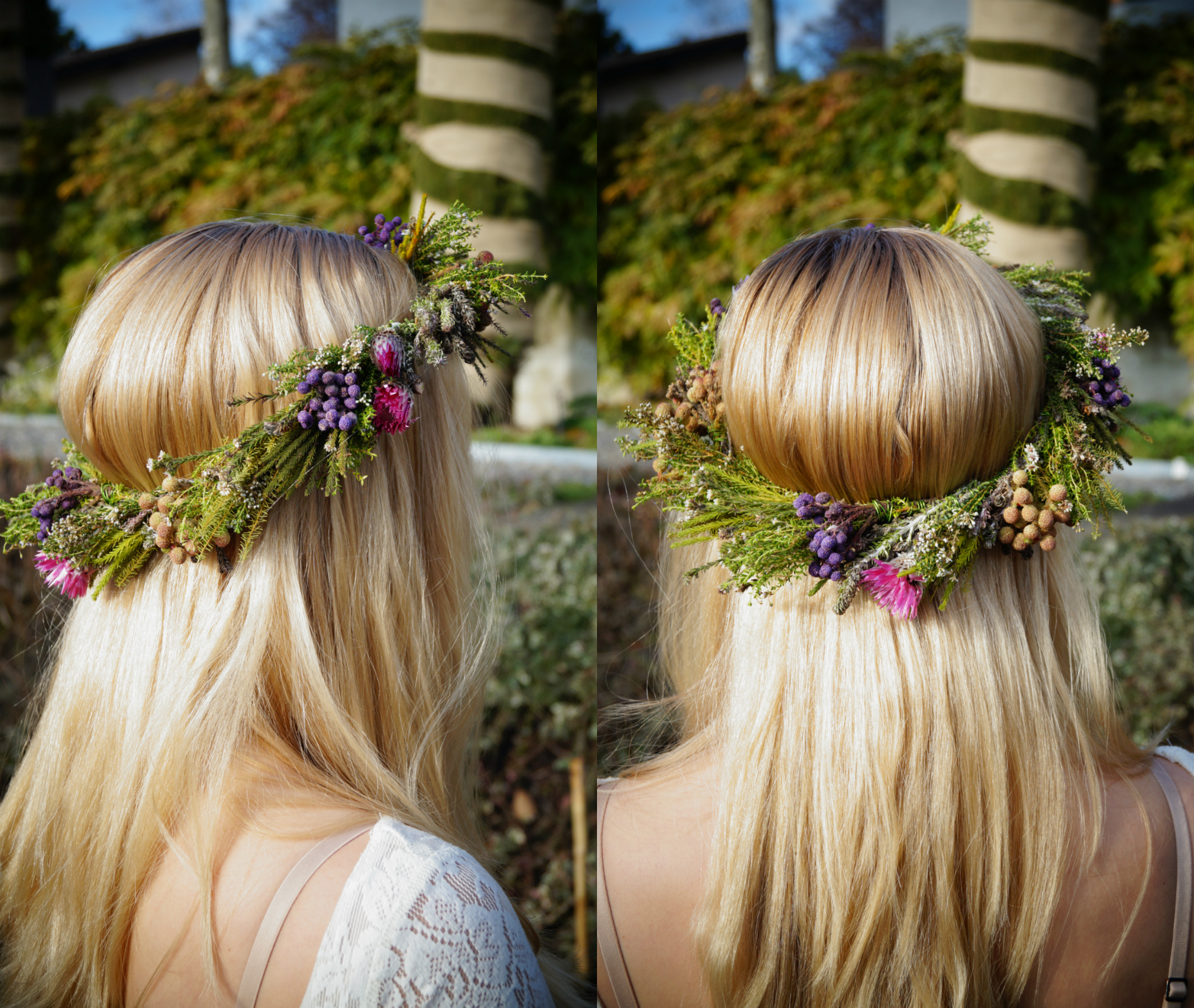 How to do a DIY Flower Hair Band