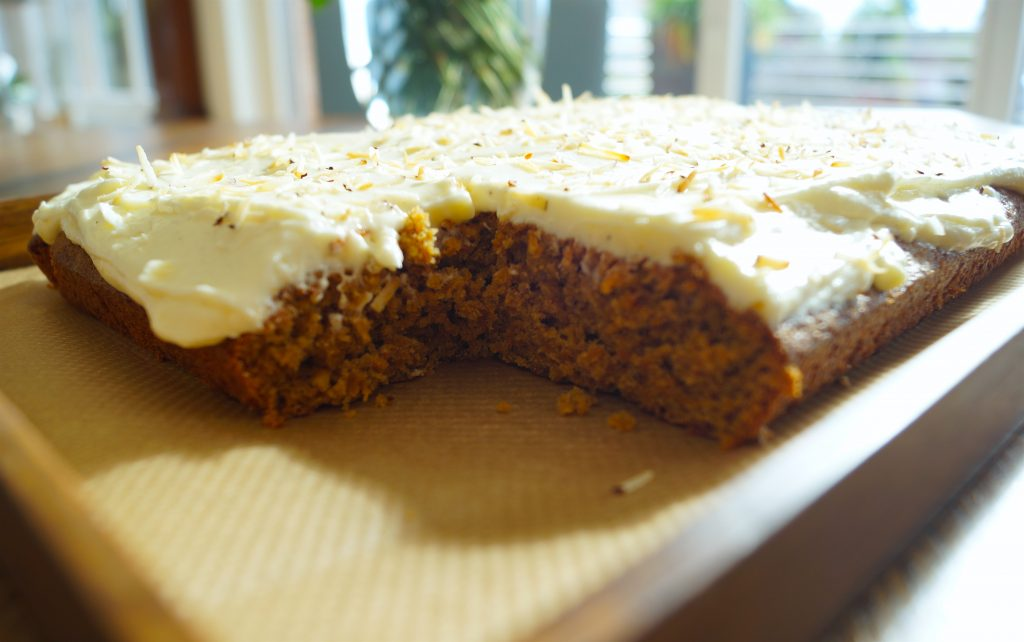 A Chai Spiced Carrot Cake that will warm your heart