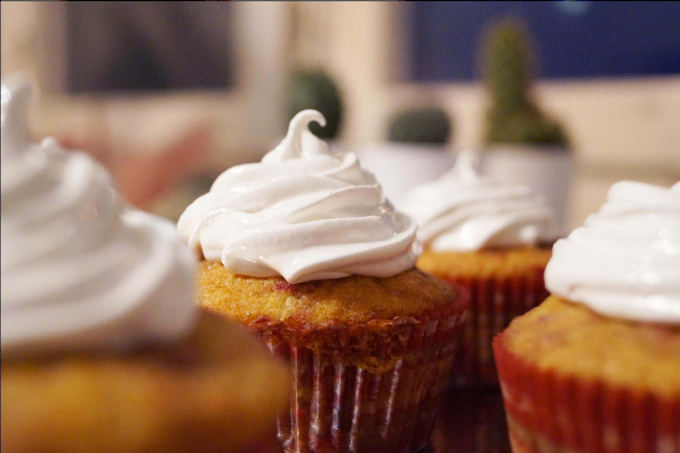 Cinnamon and Apple Cupcakes