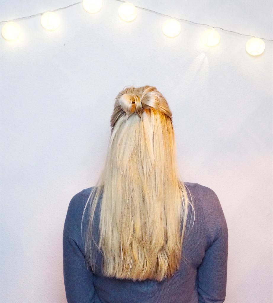 The cutest Hair Bow ever  #HairTutorial