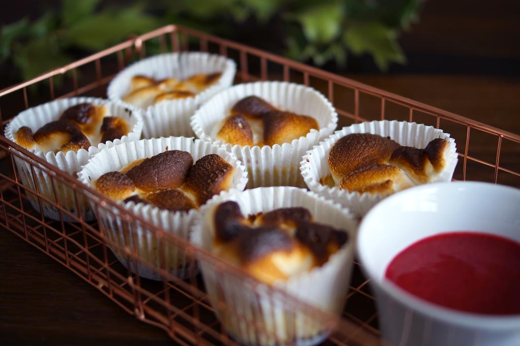 Making Marshmallow Cheesecake Cupcakes