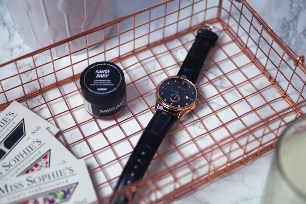 December Favourites: Rose gold watch