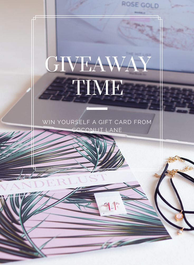 GIVEAWAY Time with Coconut Lane
