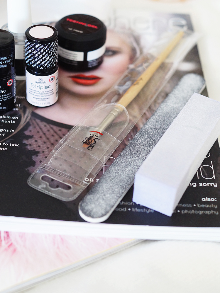 How to do a gel overlay on your natural nails