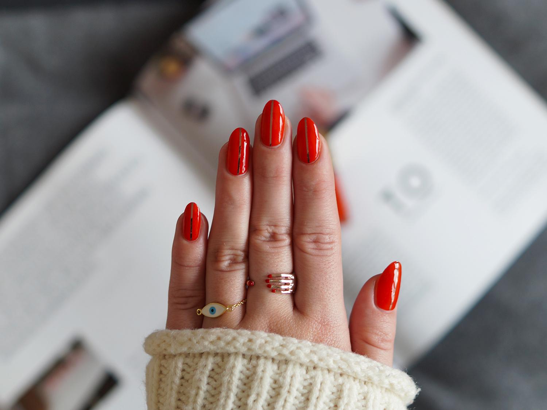Amazing Nails Red Illustration - Nail Art Design Ideas ...